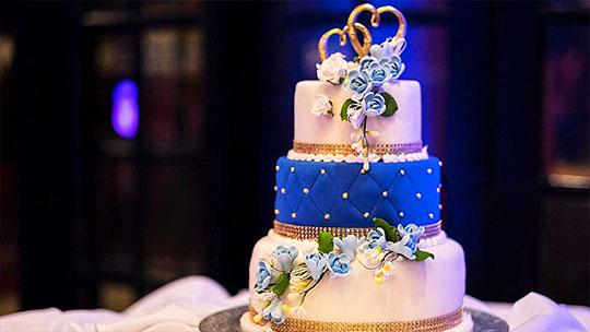 Wedding cakes and structures in in sri lanka
